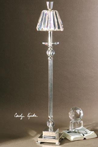 Uttermost Company - Kalena Silver Crystal Buffet Lamp - 29845-1