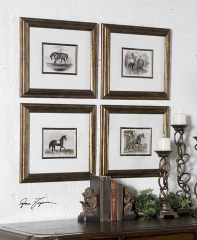 Uttermost Company - Horses Framed Art Set - 33590