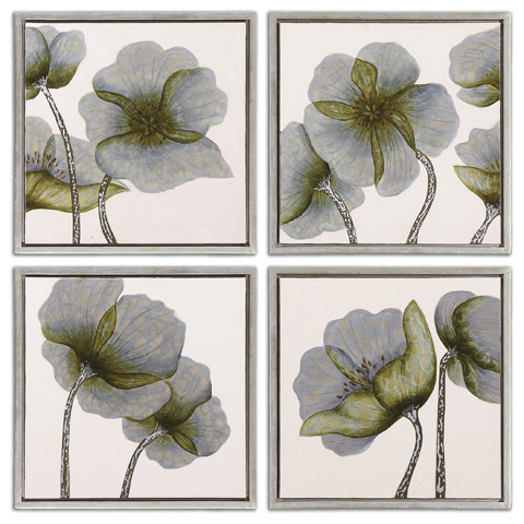 Uttermost Company - Mini Floral Glow Wall Art - 34216