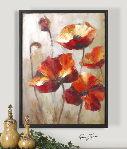 Uttermost Company - Window View Floral Art - 34223