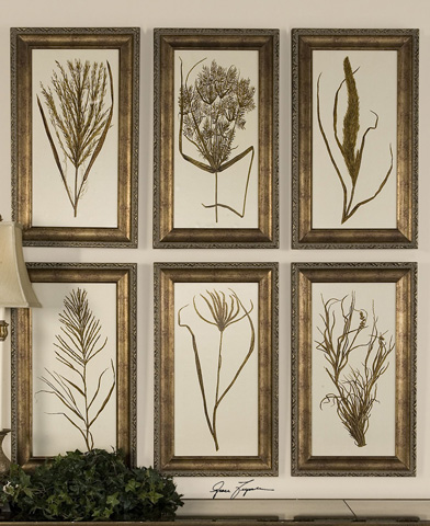Uttermost Company - Wheat Grass Framed Art - 41151