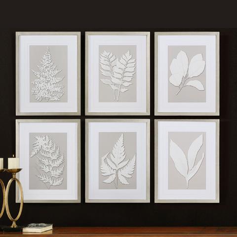 Uttermost Company - Moonlight Ferns Framed Art - 41394