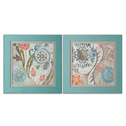 Uttermost Company - Royal Tapestry Framed Art - 41397
