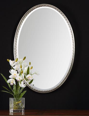 Uttermost Company - Casalina Nickel Wall Mirror - 01115