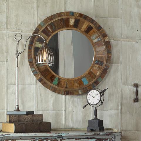 Uttermost Company - Jeremiah Round Wall Mirror - 04017