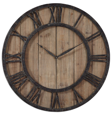 Uttermost Company - Powell Wall Clock - 06344