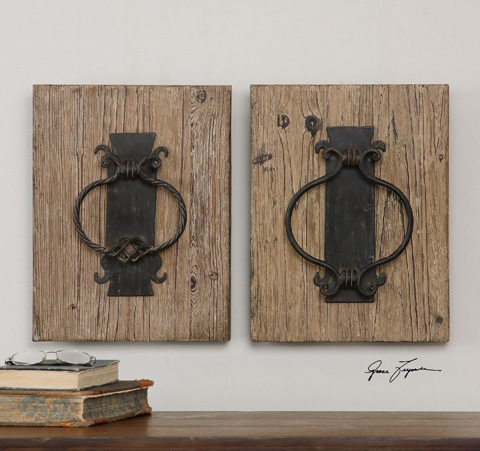Uttermost Company - Rustic Door Knockers - 07654