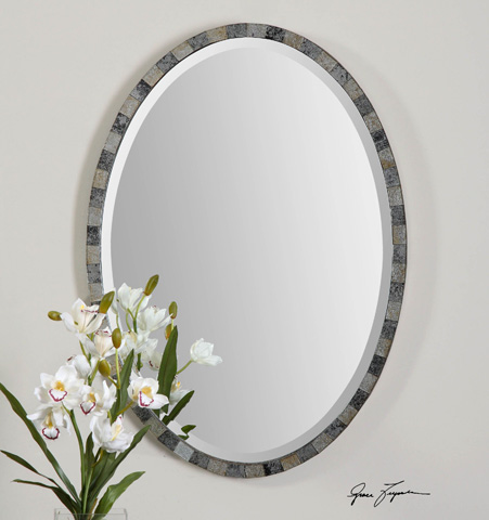 Uttermost Company - Paredes Oval Wall Mirror - 12859