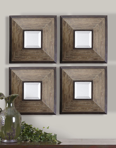 Uttermost Company - Fendrel Square Wall Mirrors - 13817