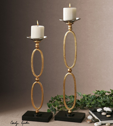 Uttermost Company - Lauria Candleholders - 19830