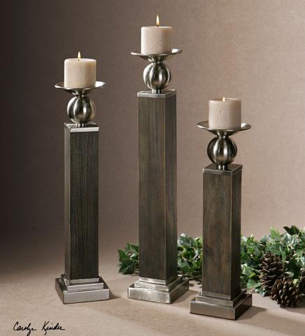 Uttermost Company - Hestia Candleholders - 19832