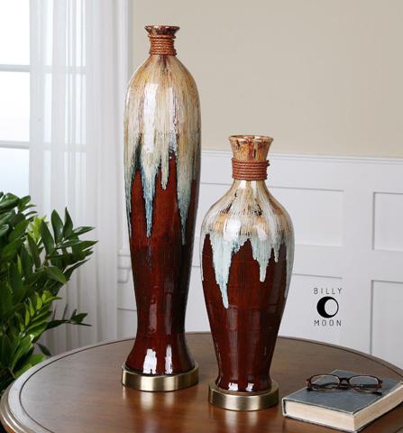 Uttermost Company - Aegis Vase Set - 19844