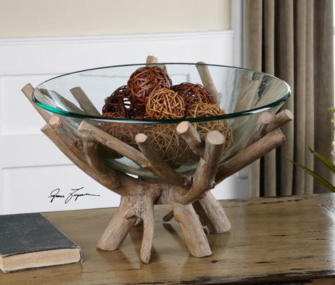 Uttermost Company - Thoro Bowl - 19851