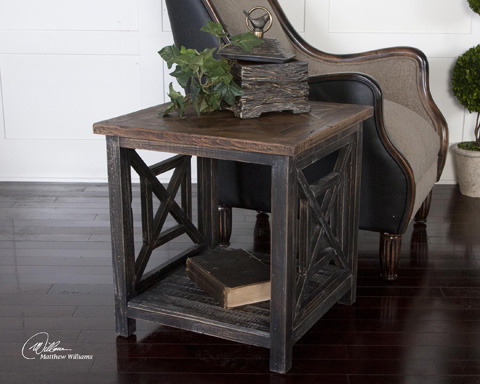 Uttermost Company - Spiro End Table - 24263