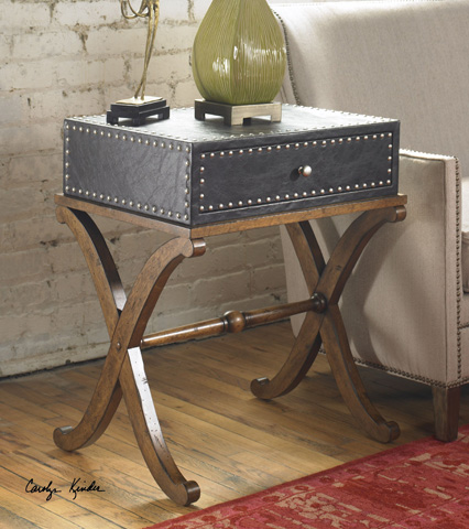 Uttermost Company - Lok Accent Table - 24320