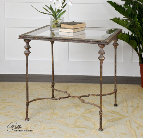 Uttermost Company - Quillon End Table - 24365