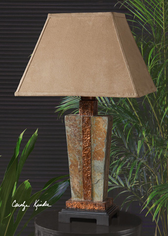 Uttermost Company - Slate Accent Table Lamp - 26322-1