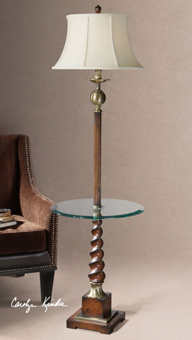 Uttermost Company - Myron Twist End Table Lamp - 28568
