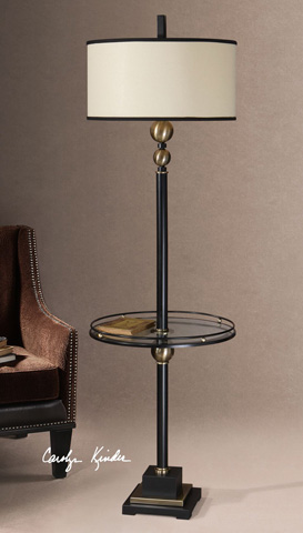 Uttermost Company - Revolution End Table Lamp - 28571-1