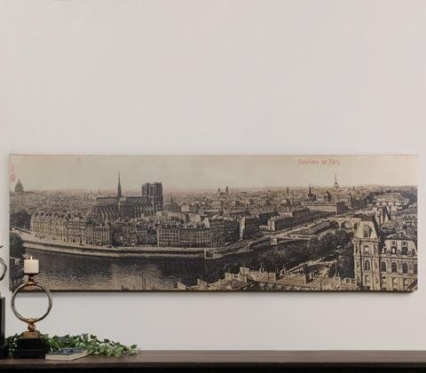 Uttermost Company - Panorama de Paris Wall Art - 31500