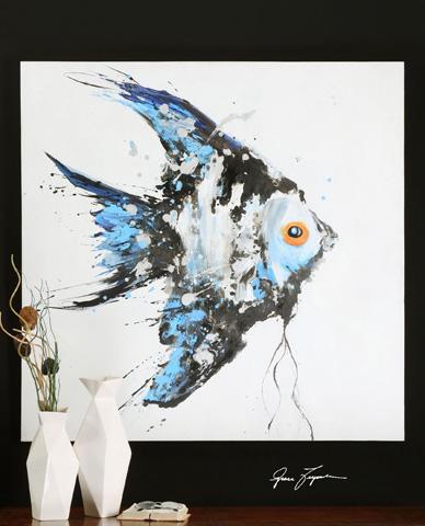 Uttermost Company - Blue Angel Wall Art - 32243