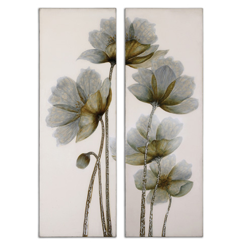 Uttermost Company - Floral Glow Wall Art - 34201