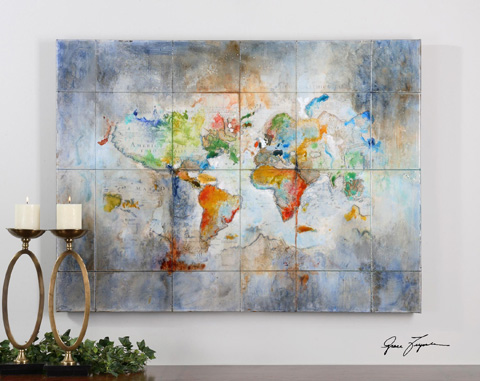 Uttermost Company - World Of Color Wall Art - 34256