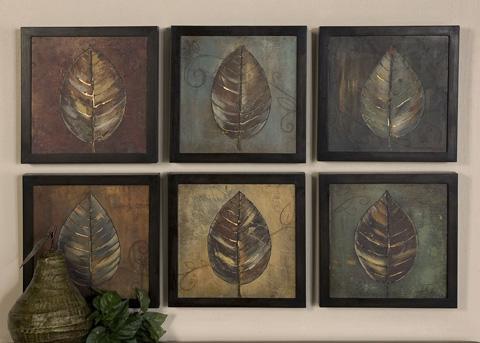 Uttermost Company - New Leaf Panels Wall Art - 50890