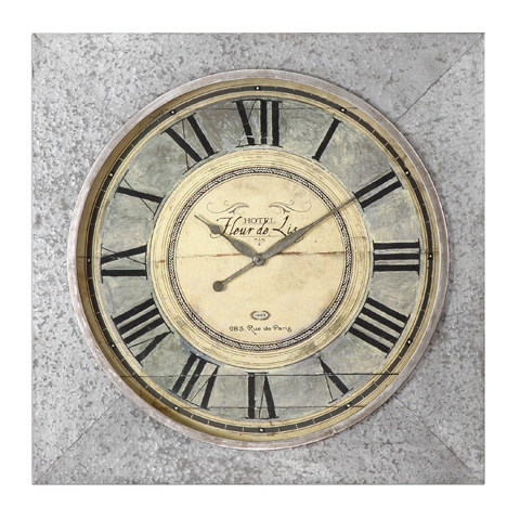 Uttermost Company - Rue de Paris Clock - 06423