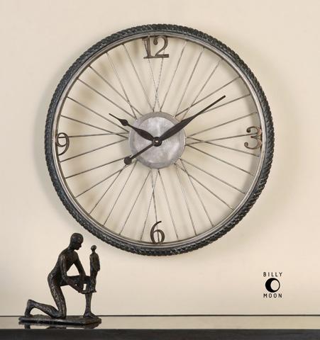 Uttermost Company - Spokes Clock - 06426