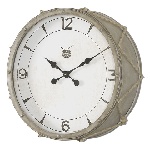 Uttermost Company - Rope Snare Clock - 06429