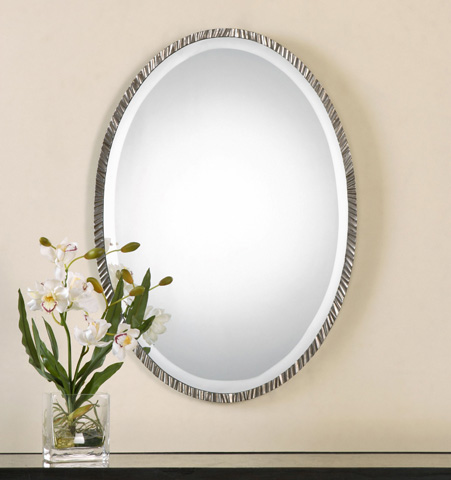 Uttermost Company - Annadel Oval Mirror - 12924