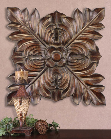 Uttermost Company - Four Leaves Plaque - 13530