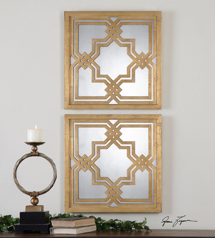 Uttermost Company - Piazzale Squares Mirror - 13865