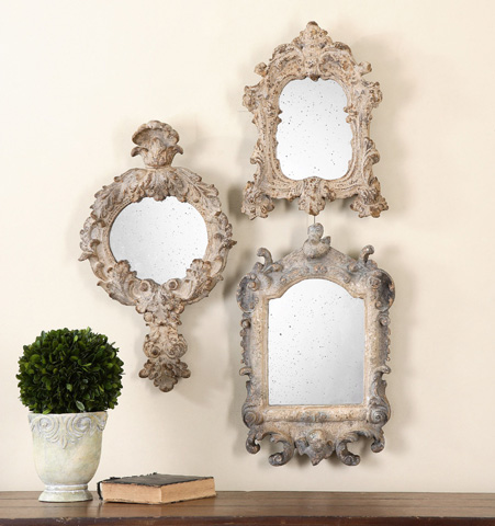 Uttermost Company - Rustic Artifacts Reflections Mirror - 13882