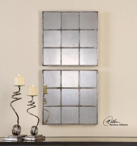 Uttermost Company - Derowen Squares Mirror - 13935