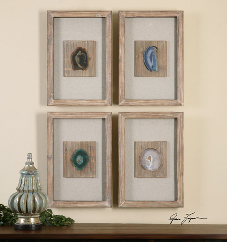 Uttermost Company - Agate Stone Wall Décor - 14499