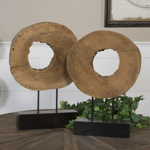 Uttermost Company - Ashlea Tabletop Wood Logs - 19822