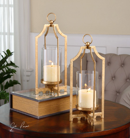 Uttermost Company - Lucy Candleholders - 19957