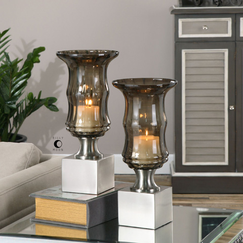 Uttermost Company - Araby Candleholders - 19998
