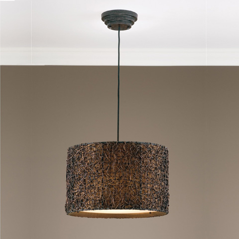 Uttermost Company - Knotted Rattan Pendant - 21103