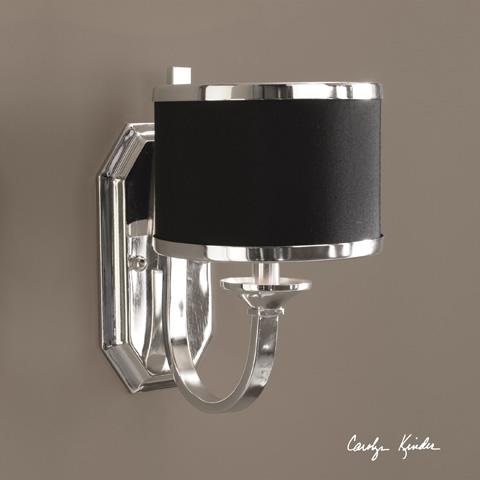 Uttermost Company - Tuxedo Wall Sconce - 22442