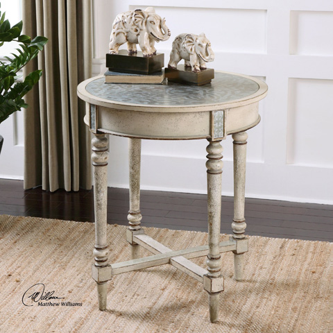 Uttermost Company - Jinan Accent Table - 24406