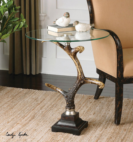 Uttermost Company - Stag Horn Accent Table - 24430