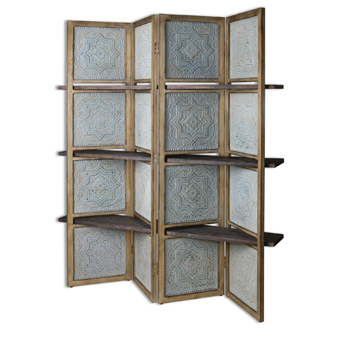Uttermost Company - Anakaren Screen with Shelves - 24511