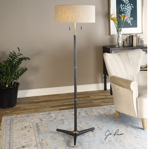 Uttermost Company - Levice Floor Lamp - 28637-1