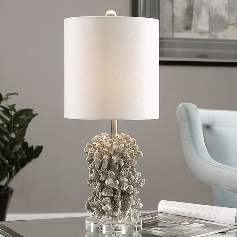 Uttermost Company - Silver Coral Table Lamp - 29774-1
