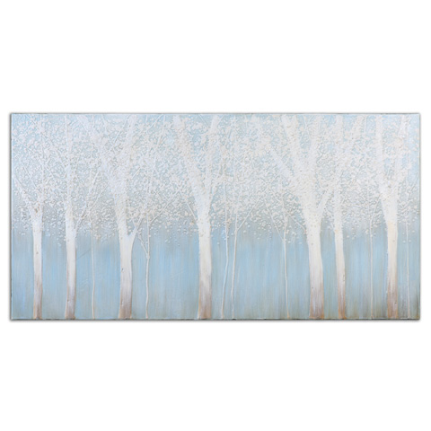Uttermost Company - Trees In The Mist Art - 33701