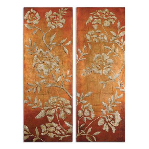 Uttermost Company - Chalk Florals Art - 34340