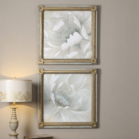 Uttermost Company - Winter Blooms Art - 35241